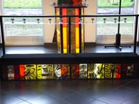 Glass altar rails